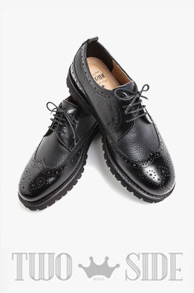 [TWOSIDE]Wingtip Oxford Shoes